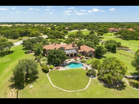 The Cimarron Hills Estate on the Golf Course in Georgetown, Texas Real Estate