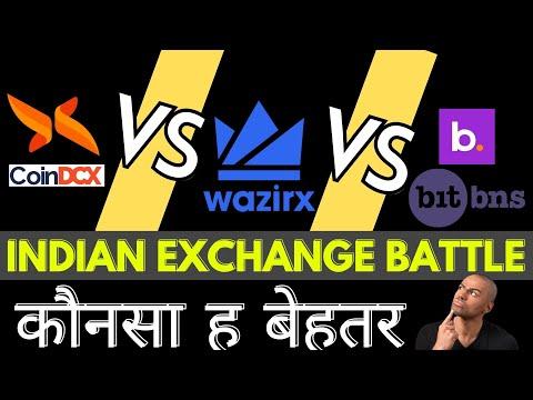 #Wazirx #Coindcx #Bitbns – Indian Crypto Exchanges Battle