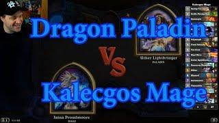 Kalecgos Mage vs Dragon Paladin | Hearthstone