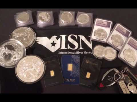 ISN Coins Silver Gold MLM Brand New Launch 2017-2018!
