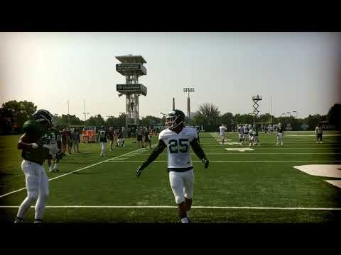 Watch highlights from Michigan State football practice