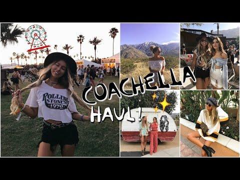 Spring Festival Haul! // Coachella 2017