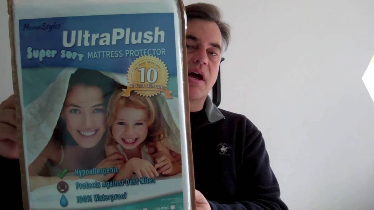 Ultraplush Waterproof Mattress Protector Review Youtube