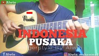 Indonesia Pusaka Fingerstyle By Alwin Cipt.Ismail Marzuki