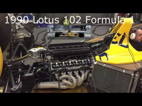 1990 Lotus 102 Formula 1