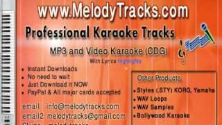 jiya dhadak dhadak jaye Karaoke - www.MelodyTracks.com