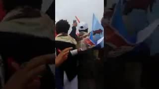 صالح يفاجئ أنصاره وسط صنعاء