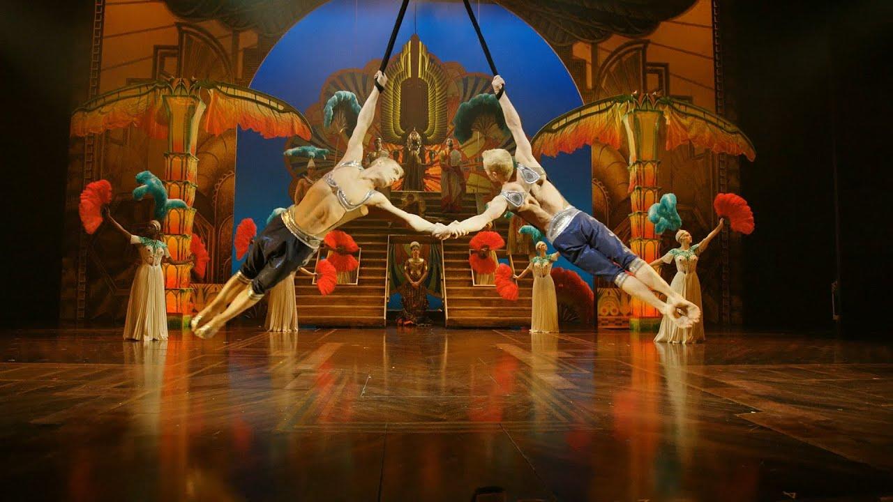 Show Clips Cirque Du Soleil Paramour Youtube