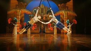 Show Clips: CIRQUE DU SOLEIL PARAMOUR(Get tickets to CIRQUE DU SOLEIL PARAMOUR: http://www.broadway.com/shows/cirque-du-soleils-paramour/, 2016-05-20T21:25:11.000Z)