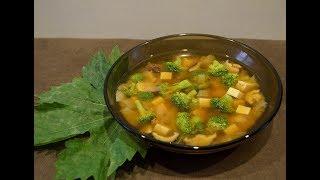 традиционный японский суп Мисо