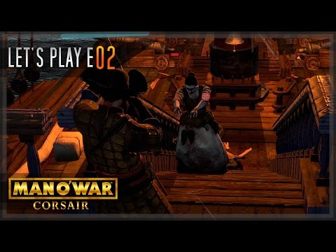 Man O' War: Corsair - Let's Play E02 - 'Undead and lightning strikes""