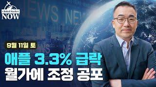 [간밤 월드뉴스 총정리] 3.3% 급락한 애플…월가에 퍼진 '조정' 공포