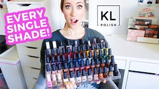 My KL Polish Collection... 😱
