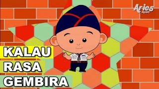 Lagu Kanak Kanak Alif & Mimi - Kalau Rasa Gembira (Animasi 2D)