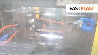 Двухместная пресс-форма, изготовление пластмассовых упаковок для линз(Двухместная пресс-форма, изготовление пластмассовых упаковок для линз - на видео показана работа пресс-фор..., 2016-04-20T19:41:11.000Z)