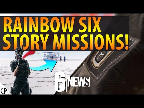 STORY MISSIONS! Rainbow Six Siege in Tom Clancy's Ghost Recon Wildlands - 6News