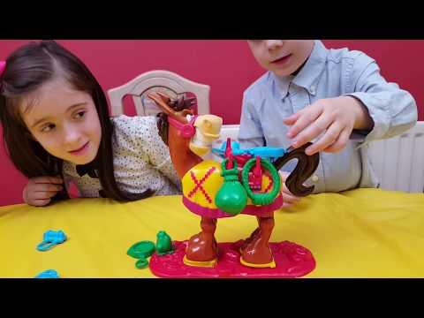 Buckaroo!! Family Game For Kids Kicking Mule Preschool Video Toy Unboxing
