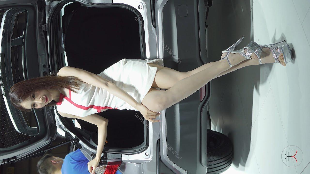 4K 2020東莞春季車展 레이싱모델 Racing Model TOYOTA車模01