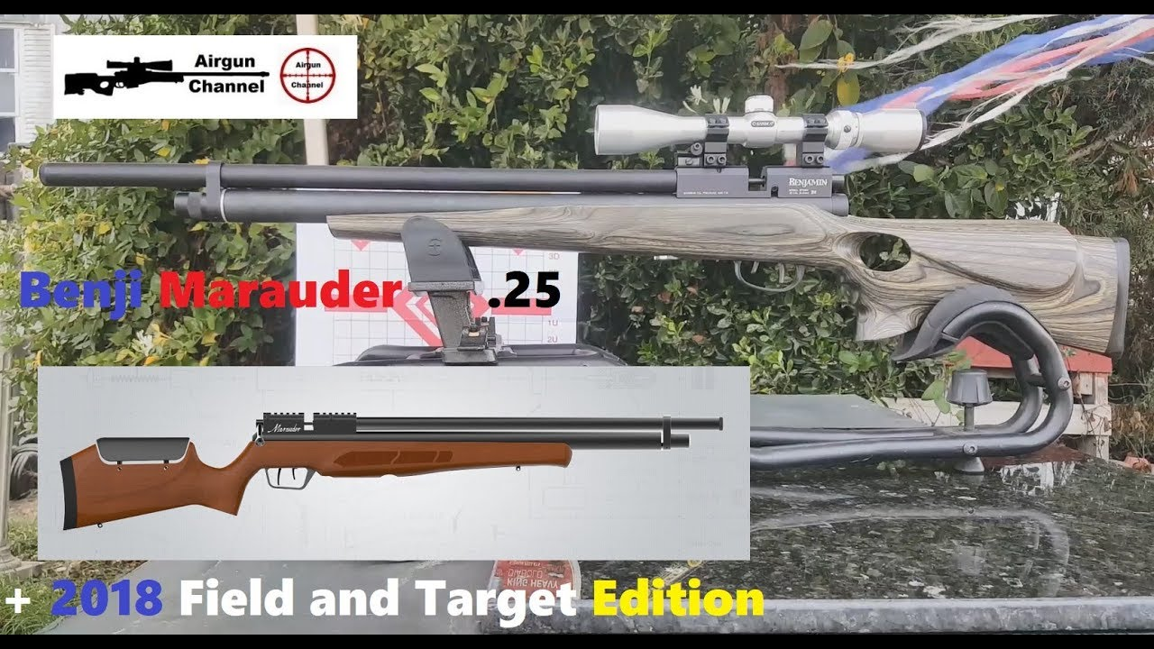 Benjamin Marauder  25 (+ 2018 Regulated Field and Target FT Edition) w/  Boyds Stock