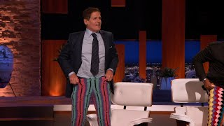 The Sharks Are Hooked on Lord von Schmitt's Crocheted Clothing - Shark Tank