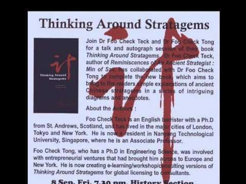 TThe Complete Art of War Series (SIM): Media Corp Interview Professor Dr FOO Check Teck