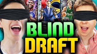 BLIND DRAFT AND PLAY VS TDPRESENTS - NBA 2K16 DRAFT