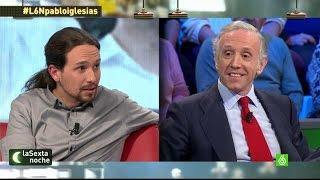 """Pablo Iglesias a Eduardo Inda: """"Denunciar cada mentira contr..."""