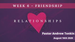 Mildura Church of Christ | Relationships | Friendship