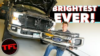 Upgrading Our Ford Super Duty Headlights Was a PAIN And Took FOREVER — But Totally WORTH IT!