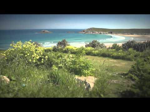 Views of Mawgan Porth to Perranporth, Cornwall