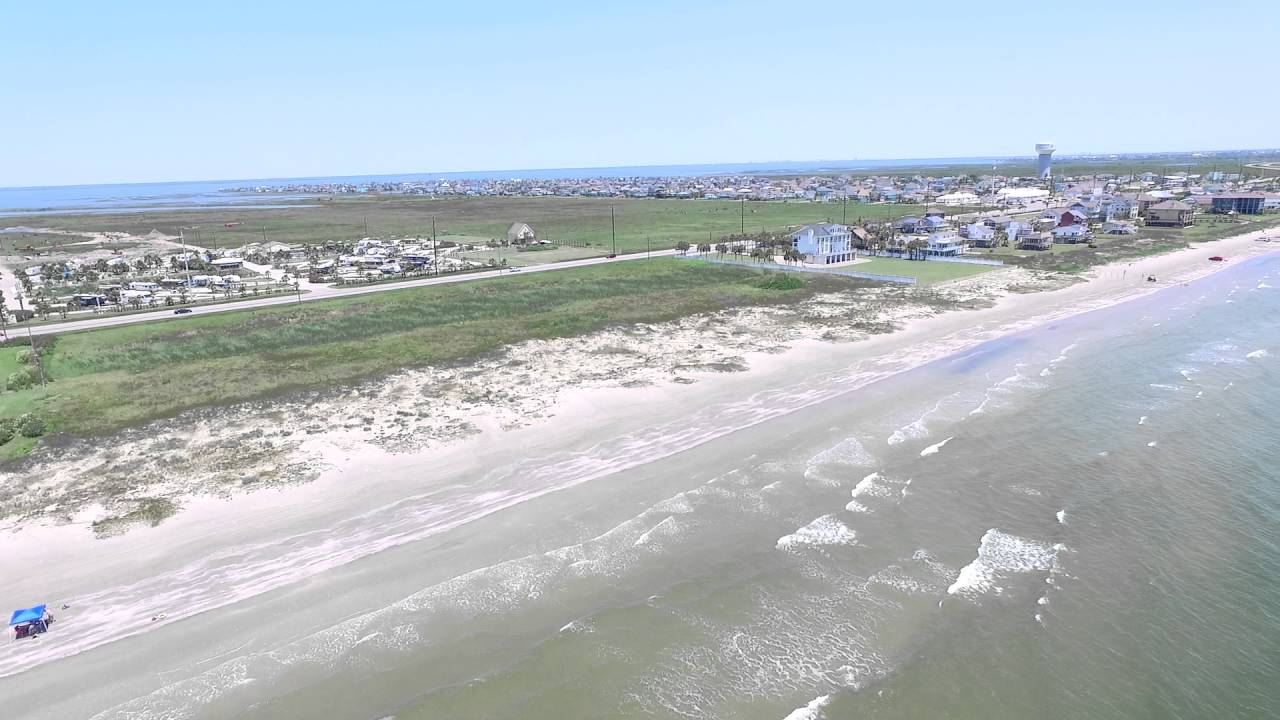 Dji Phantom 3 4k Flight At Jamaica Beach Galveston Texas 1080p High Def