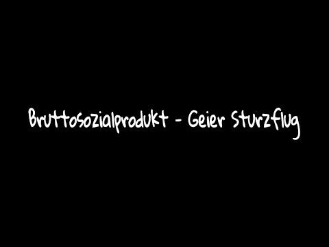 Bruttosozialprodukt - Geier Sturzflug     ~ Lyric
