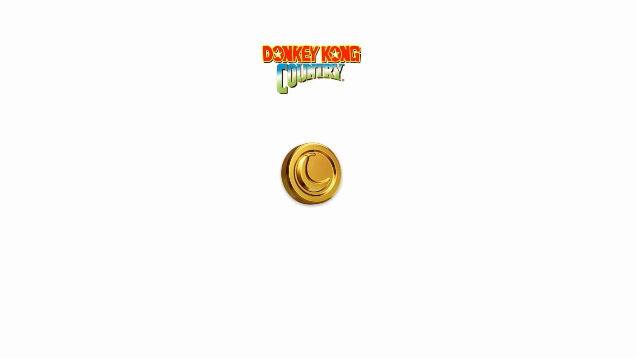 Banana Coin Sound Effect Donkey Kong Country Youtube