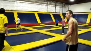 Insane Concord California Trampoline Park - tricks at Indoor Trampoline Park in Concord CA