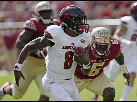 Louisville Vs. Florida State Highlights 2017 | CFB Week 8 | College Football Highlights 2017