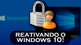 🔑 Como REATIVAR o Windows 10!