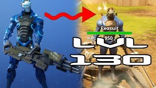 Fortnite 4.3 Lvl 130 Carbide | Amazing Grenades | Space Gun Lefty and Righty | Mission Intel