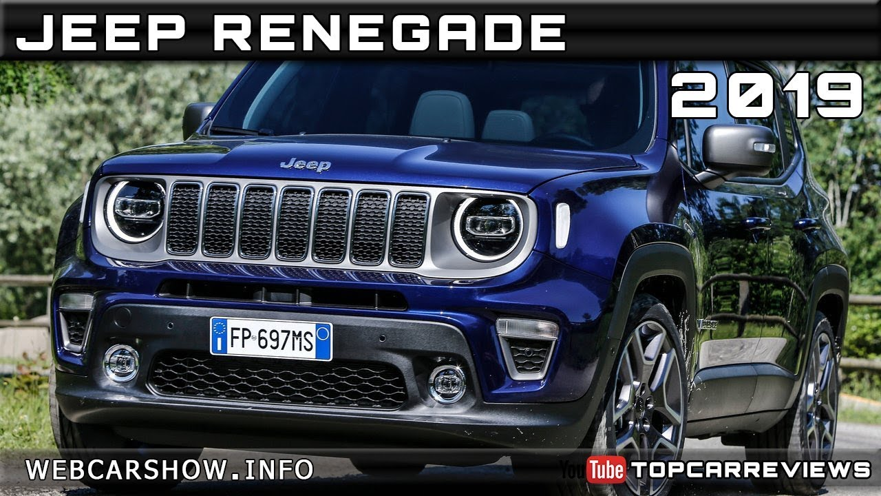 2019 Jeep Renegade Review Rendered Price Specs Release Date