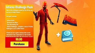 "How to Get ""INFERNO PACK"" in Fortnite For FREE! INFERNO SKIN BUNDLE! (Inferno Giveaway)"