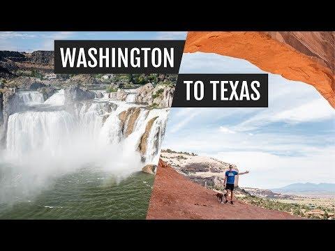 Washington To Texas Road Trip | Boise, Salt Lake City, Moab, & Albuquerque