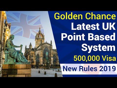 GOOD NEWS 💥 UK New Point Based System Explained 💥 | Get UK Residency Easily
