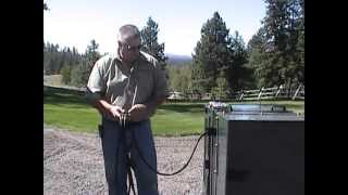 Connecting to the Power Pack - DeSite Portable Topsoil Screener Thumbnail