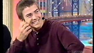 Lucas Black on Rosie O'Donnell Show
