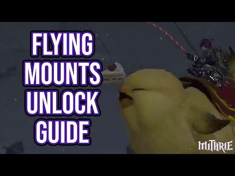 FFXIV 2 35 0394 Change Chocobo Color Guide | FunnyCat TV