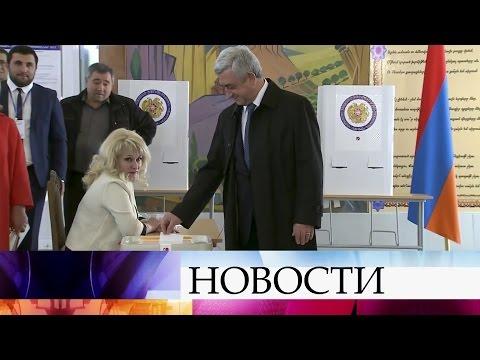 ВАрмении подвели итоги парламентских выборов— лидирует правящая партия.