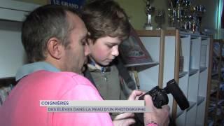 Coignières : des élèves dans la peau d'un photographe professionnel