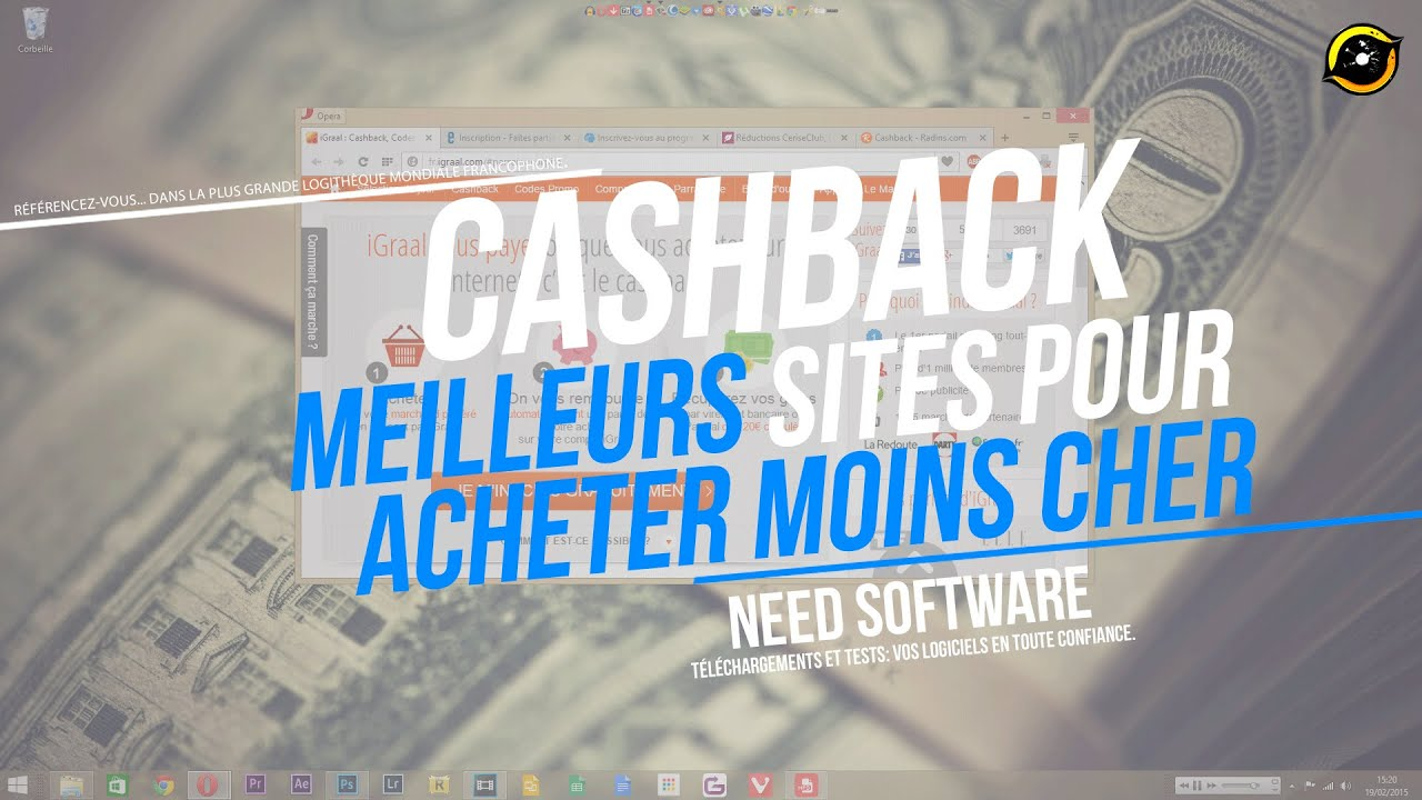 meilleurs sites de cashback pour acheter moins cher top 5 youtube. Black Bedroom Furniture Sets. Home Design Ideas