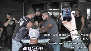 PAF Armwrestling Belt Supermatch: Robert Mosqueda vs Josh Wood