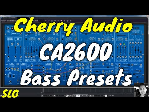 Cherry Audio | CA2600 | Bass presets preview