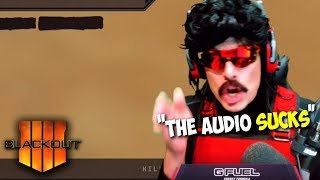 "DrDisRespect: ""The Audio Sucks in This Game"" 